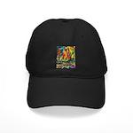 Grand Prix Auto Race Painting Print Baseball Hat