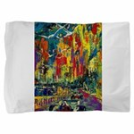 Grand Prix Auto Race Painting Print Pillow Sham