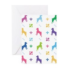 Jack Russell Terrier Designer Greeting Card