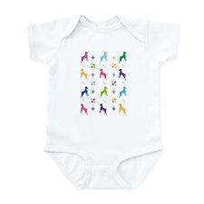 Jack Russell Terrier Designer Infant Bodysuit