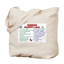 Basenji Property Laws 2 Tote Bag