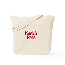 Kayla's Papa Tote Bag