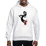 Kokopelli Skateboard Hooded Sweatshirt