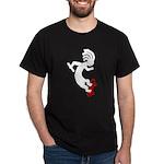 Kokopelli Skateboard Dark T-Shirt
