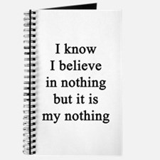 My nothing Journal