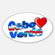 Cabo Verde Heart Decal