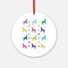 Labrador Retriever Designer Ornament (Round)