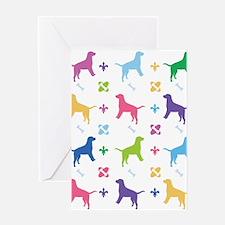 Labrador Retriever Designer Greeting Card