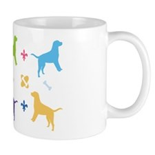 Labrador Retriever Designer Small Mug