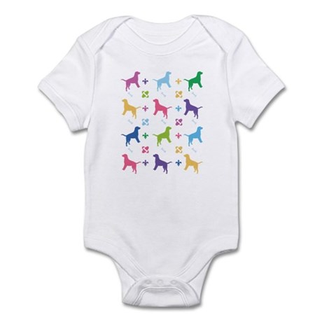 Labrador Retriever Designer Infant Bodysuit