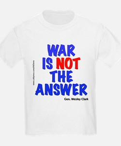 """War No Answer"" T-Shirt"