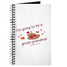 Great Grandma To Be Journal