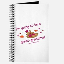 Great Grandma To Be Journal