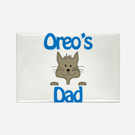 Oreo's Dad Rectangle Magnet