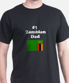 #1 Zambian Dad T-Shirt