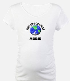 World's Okayest Abbie Shirt