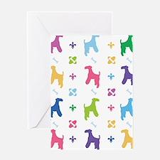 Lakeland Terrier Designer Greeting Card
