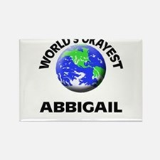 World's Okayest Abbigail Magnets