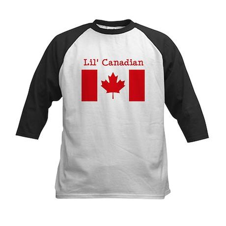 Canadian Kids Baseball Jersey