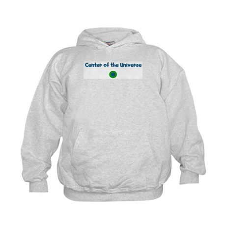 Center of the Universe Kids Hoodie