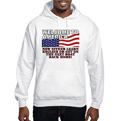 Welcome to America Hoodie
