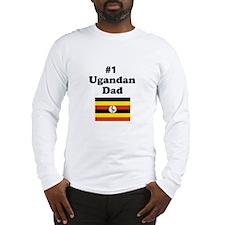 #1 Ugandan Dad Long Sleeve T-Shirt