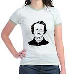 edgar allen poe Jr. Ringer T-Shirt