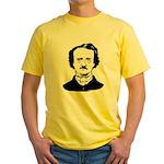 edgar allen poe Yellow T-Shirt