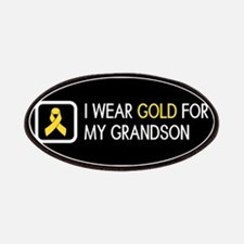 Childhood Cancer: Gold For My Grandson Patch