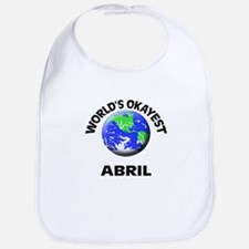 World's Okayest Abril Bib