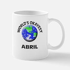 World's Okayest Abril Mugs