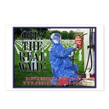 Oil The Real WMD Postcards (Package of 8)