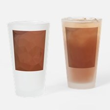 Burnt Orange Abstract Low Polygon Background Drink