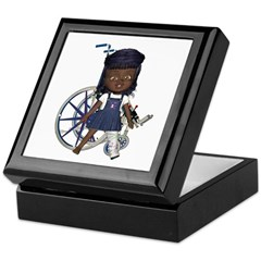 Katy Broken Left Leg Keepsake Box