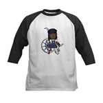 Katy Broken Left Leg Kids Baseball Jersey