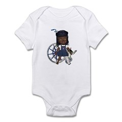 Katy Broken Left Leg Infant Bodysuit