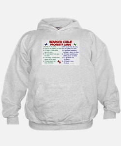 Bearded Collie Property Laws 2 Hoodie