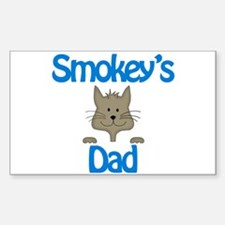 Smokey's Dad Rectangle Decal