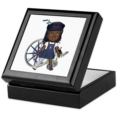 Katy Broken Right Leg Keepsake Box