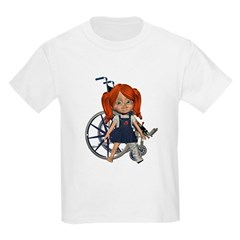 Kit Broken Left Leg Kids Light T-Shirt