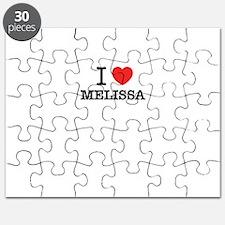 I Love MELISSA Puzzle