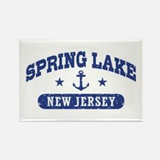 Spring Lake NJ Rectangle Magnet