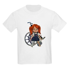 Kit Broken Right Leg Kids Light T-Shirt