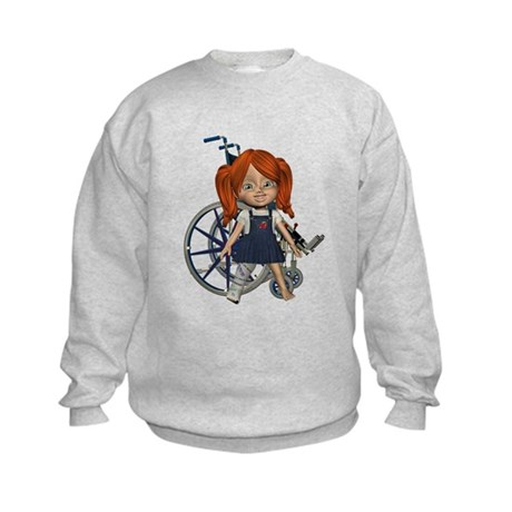 Kit Broken Right Leg Kids Sweatshirt