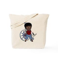 Keith Broken Left Arm Tote Bag
