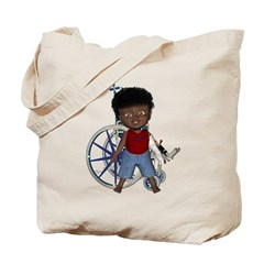 Keith Broken Left Arm Tote Bag
