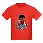 Keith Broken Left Arm Kids Dark T-Shirt