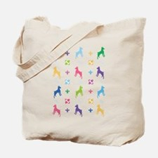 Minature Pinscher Designer Tote Bag