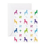 Minature Pinscher Designer Greeting Card