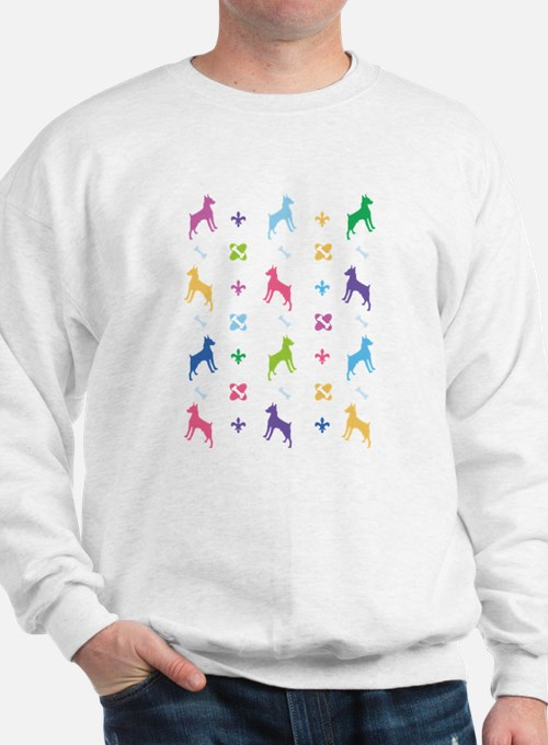 Minature Pinscher Designer Sweatshirt